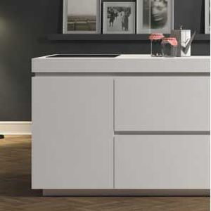 Kitchen base cabinet / free-standing - STYLE - DOIMO CUCINE