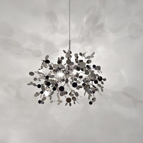 pendant lamp / original design / metal / dimmable