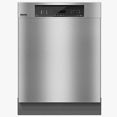 front-loading dishwasher / commercial / energy-efficient / drying