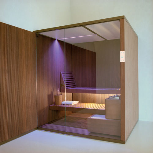 Finnish sauna / commercial / wooden