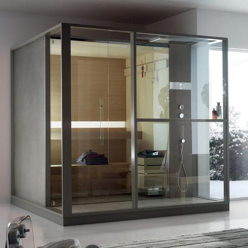 Finnish sauna / commercial / wooden