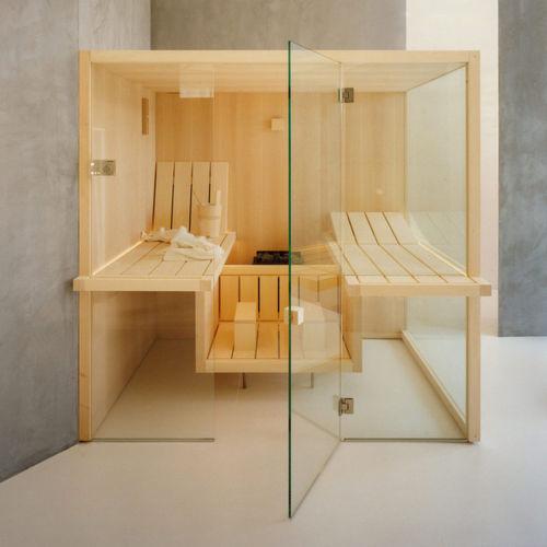commercial sauna / wooden