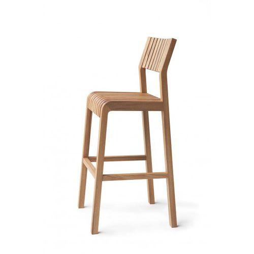 contemporary bar chair / elm