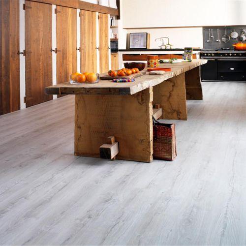 HDF laminate flooring