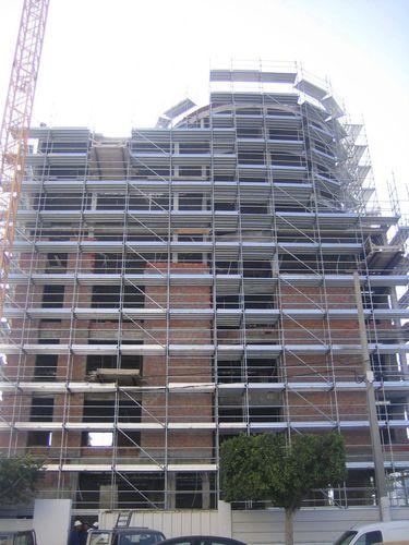 galvanized steel scaffolding / high