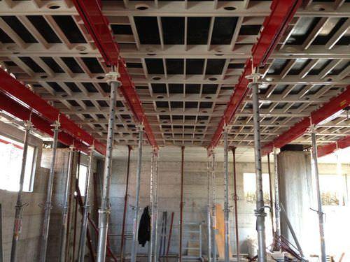 modular formwork / aluminum / for floors / adjustable
