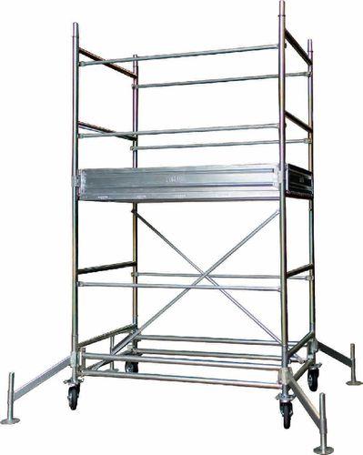 galvanized scaffolding / high
