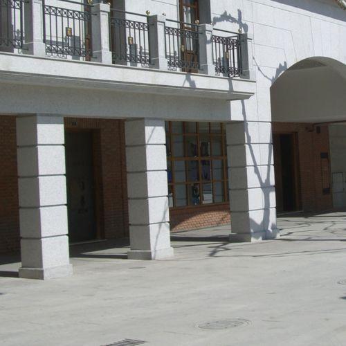 round prefabricated pillar