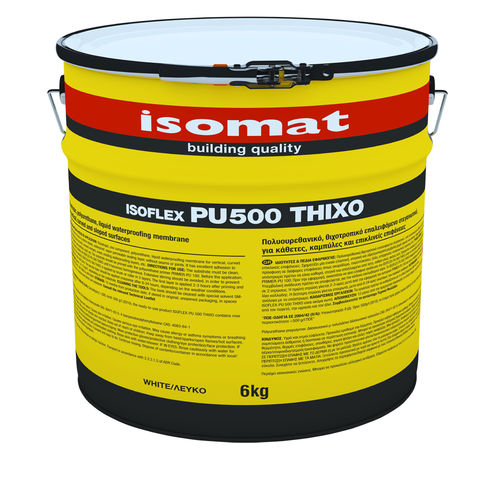 flat roof liquid waterproofing - ISOMAT S.A.