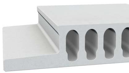 Reinforced Concrete Deck Slab Roof Alveolar Fireproof Fire