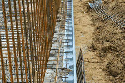 disposable formwork / metal / for expansion joints