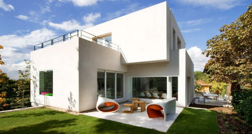 Individual House Cambrils Abaton Arquitectura Contemporary Concrete Two Story