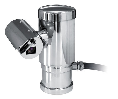 PTZ security camera / bullet / surface-mounted / explosion-proof