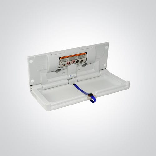 plastic diaper changing station