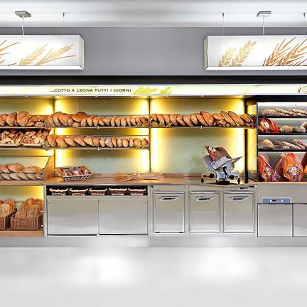 baked goods display rack