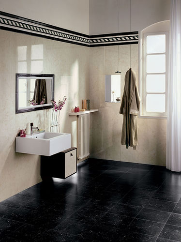 indoor tile / bathroom / floor / porcelain stoneware