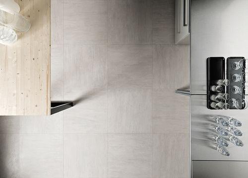 indoor tile / floor / porcelain stoneware / matte