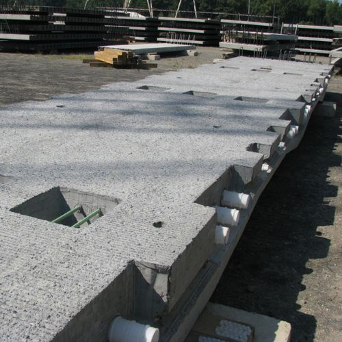 reinforced concrete deck slab