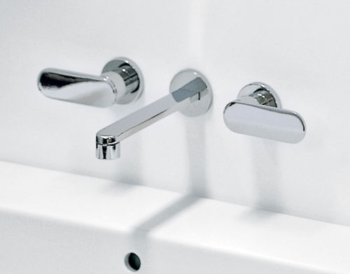 double-handle washbasin mixer tap