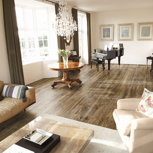engineered parquet floor / solid / floating / oak