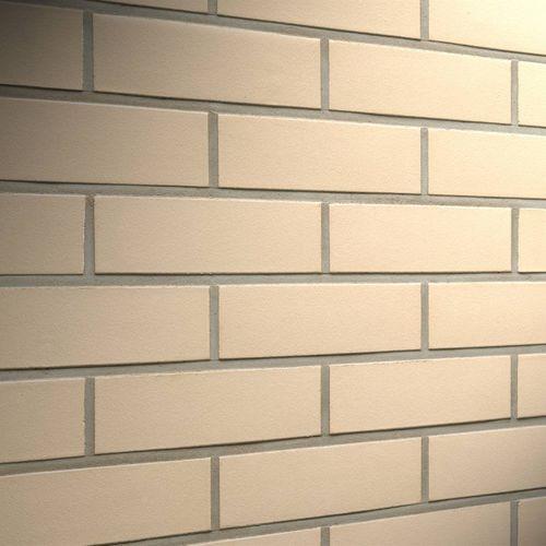 clinker cladding brick / for facade / smooth
