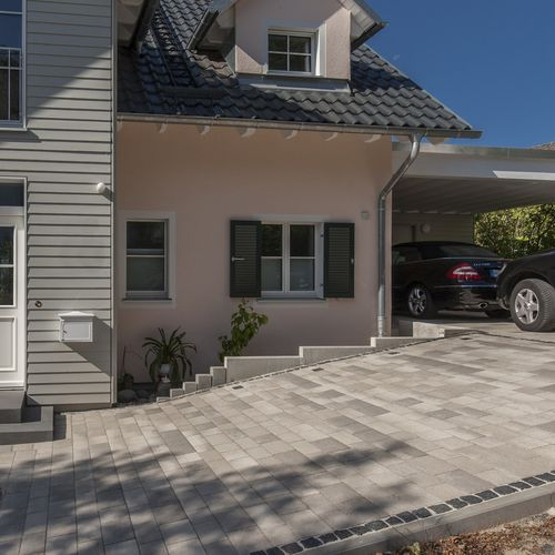 stone paver / drive-over / anti-slip / textured