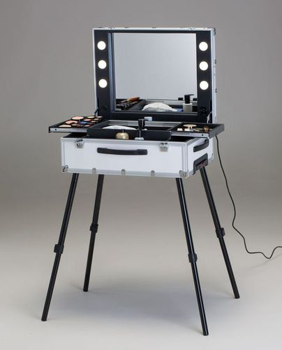 contemporary dressing table / aluminum / plastic / for hairdressers