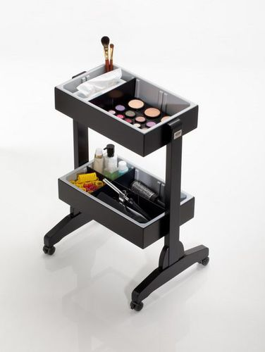 treatment trolley / for beauty salons / wooden