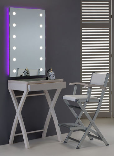 contemporary dressing table / ash / for hairdressers