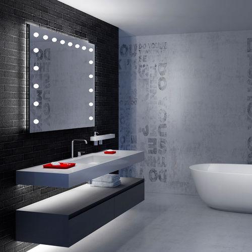 wall-mounted bathroom mirror - CANTONI