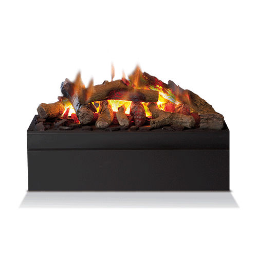 closed electric hearth