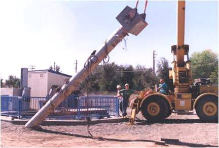precast concrete pile