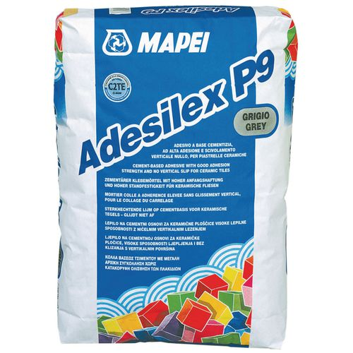 fixing adhesive mortar / jointing / for tiles