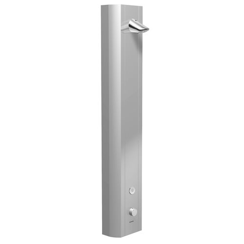 thermostatic shower column / electronic / commercial
