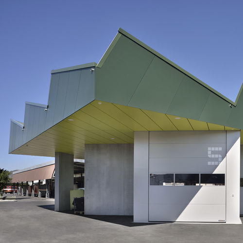ventilated facade cladding - Bruag
