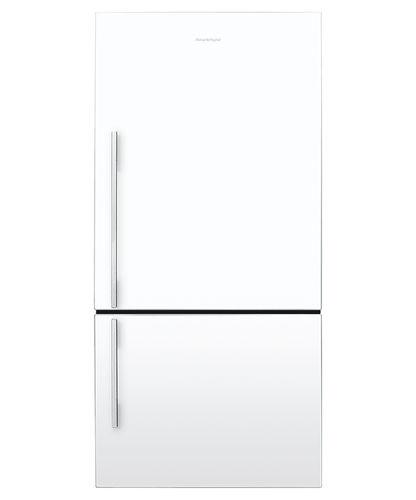bottom freezer refrigerator-freezer / home / double door / white