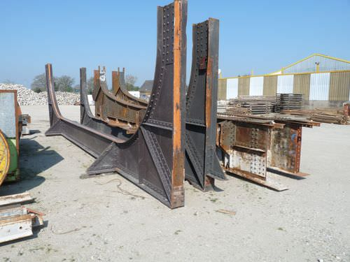 metal beam / solid wood / I / large-span