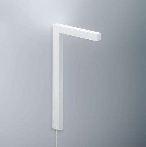 contemporary wall light / aluminum / PMMA / LED