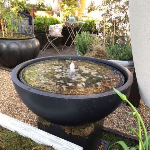 garden fountain / fiberglass / contemporary