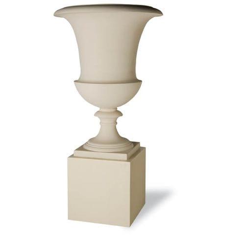contemporary pedestal / fiberglass / garden