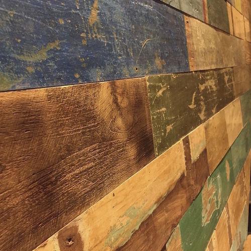 teak wall cladding panel