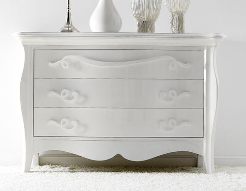 traditional chest of drawers / MDF / birch / beech