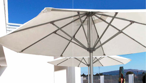 commercial patio umbrella / for hotels / stainless steel / aluminum