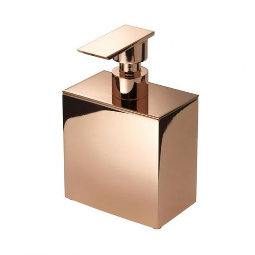 hotel soap dispenser / wall-mounted / free-standing / brass