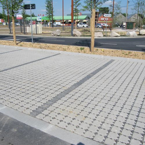 drainage paver