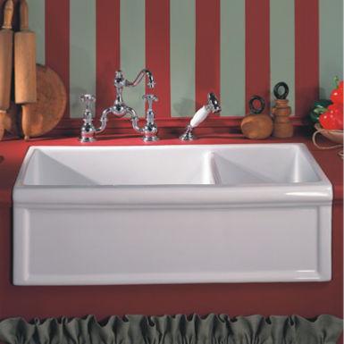 double kitchen sink