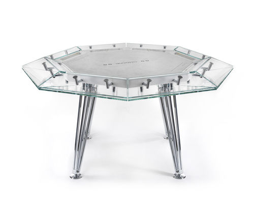 contemporary poker table