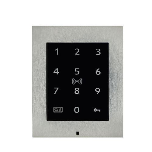 access control code keypad / wall-mounted / with touchscreen / RFID