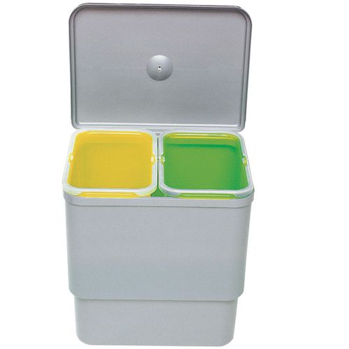 kitchen trash can / plastic / contemporary / recycling