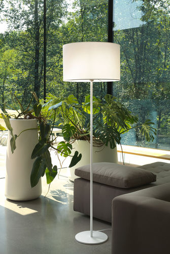 floor-standing lamp / contemporary / metal / PVC
